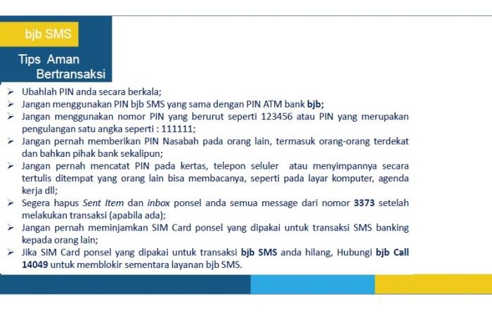 19 - Panduan Registrasi BJB SMS