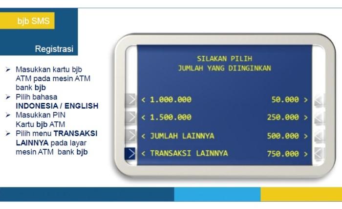 2 - Panduan Registrasi BJB SMS