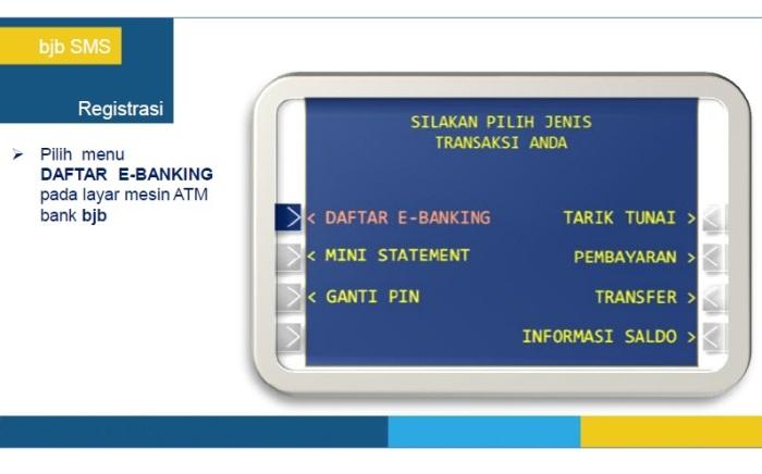 3 - Panduan Registrasi BJB SMS