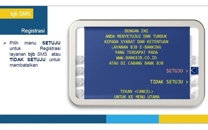 6 - Panduan Registrasi BJB SMS