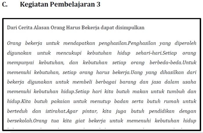 Jawaban Tugas 05 Modul KK F Profesional PKB SD Kelas Bawah